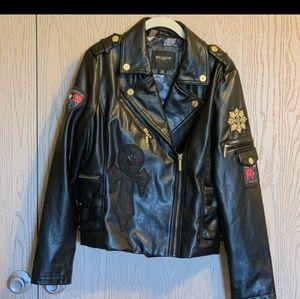nwot Rocawear leather jacket